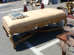 LBC Antique cushion bench